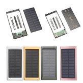 10000mAh tragbare Solarenergie-Bank verdoppeln USB-Schnellladegerät DIY Fall für Handy