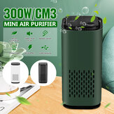 Bakeey Mini Air Purifier With 7-Color Light USB Smart Home Car Fresh Oxygen Ionizer Smoke Cleaner