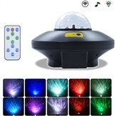USB LED Laser projetor bluetooth alto-falante lâmpada presente Galaxy Starry Night Light