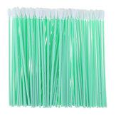 100szt Pianki do czyszczenia pianki Przemysłowe pyłu-wolne waciki gąbka Stick pyłoszczelne pręty