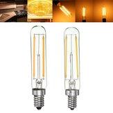Dimmableレトロ2W E12 E14 T20冷蔵庫LED COBフィラメント電球暖かい白
