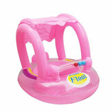 Sunshade Seat Infant Water Floating Boat Inflatable Swim Ring for Baby Care