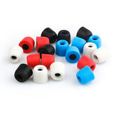 TRN 3 Pairs of Rebound Memory Foam Tips Silicone In-ear Earbuds for Earphone Headphone