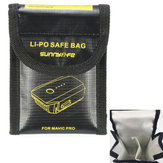 بطاريات ليبو مزدوجة آمنة حقيبة مضادة للحريق انفجار واقية من حقيبة التخزين ل DJI Mavic PRO