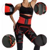 Sauna Neoprene Suporte Cinto Modelador de Pernas Para Esporte Correndo Aptidão Mais Magro Reduz