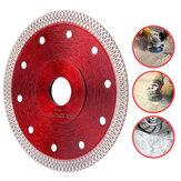 Hoja de sierra de diamante de 105/115/125 mm Hoja de corte súper fina para cortar Cerámico o Porcel