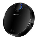 LIECTROUX ZK901 Robot Vacuum Cleaner Laser Map Navigation Sweeping Mopping 4000Pa Suction 450ml Electric Water Tank 5000mAh Long Battery Life