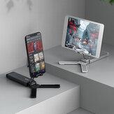 Портативный складной держатель для планшета / телефона Bakeey Online Learning Live Streaming Desktop Штатив Подставка для iPhone 12 Poco для Samsung Galaxy S21 X3 NFC