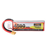 ZOP Power 7.4V 4500mAh 100C 2S Lipo Батарея XT60 Разъем для RC Дрон