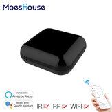 MoesHouse RF IR Универсальный WiFi-контроллер Дистанционный Радиочастотные устройства Приложение Tuya Smart Life Голосовое управление через Alexa Google Home