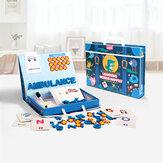 Lettre Puzzles Éducatifs Apprendre L'anglais Carte Orthographe Magnétique Alphabet Jeu Début Éducatifs Jouets Puzzles Cadeau Pour Enfants