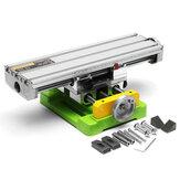 HILDA MINIQ BG6350 متعددة الوظائف حفر ملزمة لاعبا اساسيا عامل الجدول آلة طحن دقيقة صغيرة منضدة عمل