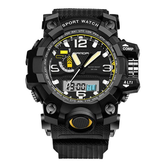 SANDA 732 Moda LED Display Men Watch 30M impermeável Sport Digital Watch