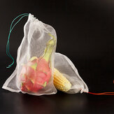50 pz Frutta Protegge Borse Agricoltura Giardino Frutta Verdura Protezione Rete Sacchetti