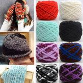 100g zagęszczony sub-wątku miękkiej bawełny włóczkowej wełny przędzy szalik kapelusz sweter przędzy piłkę