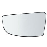 Left Rearview Lower Door Mirror Glass+Back Plate For Ford Transit MK8 2014 onwards