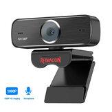 Redragon GW800 1920 X 1080P 30fps HD USB Webcam Σταθερή εστίαση Ενσωματωμένο μικρόφωνο Έξυπνη κάμερα κάμερας για επιτραπέζιους φορητούς υπολογιστές