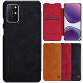 Nillkin for OnePlus 8T Case Bumper Flip Shockproof with Card Slot PU Leather Full Cover Protective Case