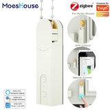 MoesHouse ZB Smart DIY Моторизованный Ролик Жалюзи / шторы приводной мотор-концентратор Tuya Smart Life APP Alexa Google Home Голосовое управление