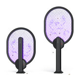BlitzWolf BW-MLT3 Electric Flies Mosquito Swatter UV Light Attracts Foldable 3000V Anti Mosquito Fly Bug Zapper Racket USB Rechargeable Summer Trap Flies