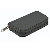22 Yuva Hafıza Kartı Depolama Çanta Depolama Kutu Kılıf Su Geçirmez SD TF Kart CF EVA SIM Kart Collpoint cp 001 için Kart Tutucu Çanta