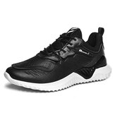 Men Breathable Mesh Splicing Light Weight Sports Casaul Running Sneakers