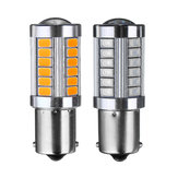 1156 BA15S 33SMD LED Car Brake Backup Lights Turning Signal Bulb DC12V 5W 660LM Red/Amber