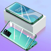 Bakeey for OnePlus 8T Case 360º Magnetic Flip with Lens Protector Touch Screen Double-Sided Tempered Glass + Metal Full Body Protective Case