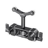 SmallRig 2727 Soporte universal para varilla LWS de 15 mm Lente Soporte para DSLR de 73-108 mm Cámara Lente Soporte de soporte con varilla de 15 mm Abrazadera