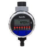 Temporizador de agua automático de la válvula de bola del jardín casero Impermeable Controlador de riego electrónico con LCD Pantalla
