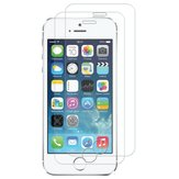 2 Pack Bakeey 0.26mm 9H Skrabestandig Tempered Glass Beskyttelsesfilm For iPhone 5/5s/SE