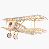 Mini Camel Fighter 380mm Rozpiętość skrzydeł Balsa Wood Laser Cut RC Airplane Kit