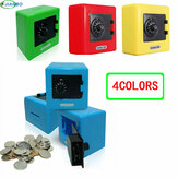 NEW Candy Colors Coin Safe Box Money Piggy Bank Security Password Chewing Cash Box Deposit Machine Gifts for kids