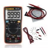 ANENGAN8009TrueRMSSINVALORCOMERCIALDigital Multímetro 9999 Cuentas Luz de fondo CA / CC Tensión de corriente Resistencia Frecuencia Capacitancia Temperatura Probador ℃ / ℉ Color Naranja