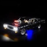Clássico / Avançado / Controle Remoto DIY LED Kit de luz para LEGO 42111 Doms Dodge Charge