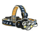 XANES 2606-6 Headlamp 18650 USB Electric Scooter Motorcycle E-bike Bike Bicycle Cycling Camp