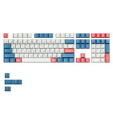 MechZone 112 Tombol Bento Japanese Keycap Set Cherry Profile PBT Sublimation Keycaps untuk Mechanical Keyboards