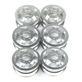6Pcs WPL RC Car Wheel Hub For B1 B16 B24 B36 C14 C24 1/16 RC Car