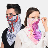 Quick-drying Breathable Riding Fishing Windproof Sunscreen Scarf Bandana Balaclava Neck Gaiter Neck Tube UV Resistant Quick Dry Lightweight Materials Cycling Polyester Adults