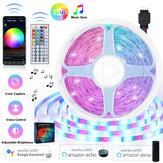 16FT-66FT 5m-20m LED Strip Lights Kit Music Sync WiFi App   44Keys Télécommande pour la pièce