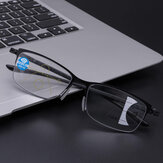 Unisex Progressive Multifocal Multi-function Intelligent Automatic Zoom Anti-blue Reading Glasses