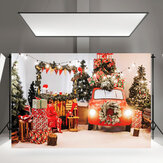 Christmas Photography Background Cloth Christmas Fireplace Red Socks for  Backdrop Decoration Background Studio Prop