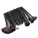 32pcs rosa Lidschatten Augenbraue Rouge Make-up Pinsel Set