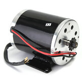 36V 500W MY1020 Electric Brushed Motor 2500Rpm w/ bracket For Scooter E-Bike Mini Bike Go Kart