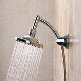 6 '' جولة مصقول الأمطار حمام الحمام الرش رأس دش رئيس الحمام