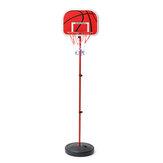 Kit réglable d'anneau de filet de basket-ball de 200CM Kit de jeu de jeu de support de panneau arrière pour enfants