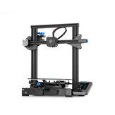 Creality 3D® Ender-3 V2 Upgraded DIY 3D Printer Kit 220x220x250mm Printing Size Ultra-silent TMC2208/Silent 32-bit Mainboard/Carborundum Glass Platform/Mean Well Power Supply/New Color Screen Support Resume After a Power Outage