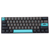 MechZone 109 Keys Graphite Blue Keycap Set OEM Profile PBT Keycaps for 61/68/87/104/108 Keys Mechanical Keyboards
