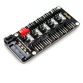JEYI Fan Controller Motherboard 4Pin PWM Hub for PWM Temperature Control Speed Regulation Computer Case Fan