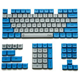 104 Keys Dark Blue Vintage Keycaps XDA Profile PBT 1U 1.75U 2U Key Cap Compatible with GH60 GK61 GK64 84 96 87 104 108 Mechanical Keyboard